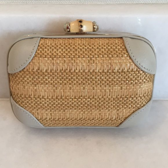 8ae5792883 Gucci bamboo collection clutch In excellent condition