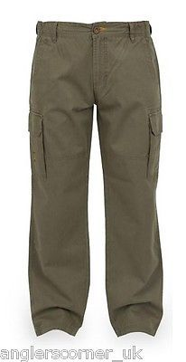 Fox chunk heavy twill cargo pants / #khaki / #trousers / #fishing ...