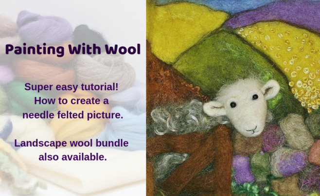 How To Needle Felt With Lincolnshire Fenn Crafts #feltcreations