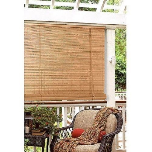 Porch Window Shade Outdoor Corded Deck Blinds 8 X8 Roll Up Patio Sun Screen Outdoor Blinds Blinds Design Patio Blinds