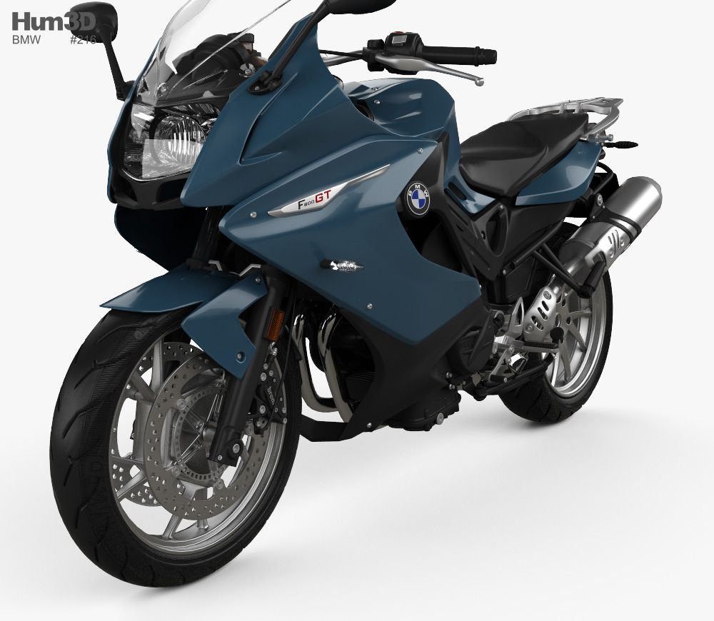 Bmw F800gt 2018 3d Model From Hum3d Com 3d Model Model Car 3d Model
