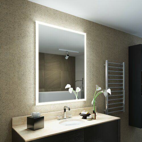 Geise Fog Free Bathroom Mirror With Shaver Socket Belfry Bathroom Illuminated Mirrors Mirror Mirrors Uk