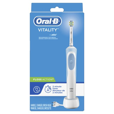 Oral B Vitality Flossaction Electric Toothbrush Rechargeable Walmart Com Oral B Vitality Power Toothbrush Rechargeable Toothbrush