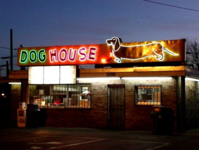 Albuquerque Nm Dog House Neon Sign In 2020 Neon Signs New