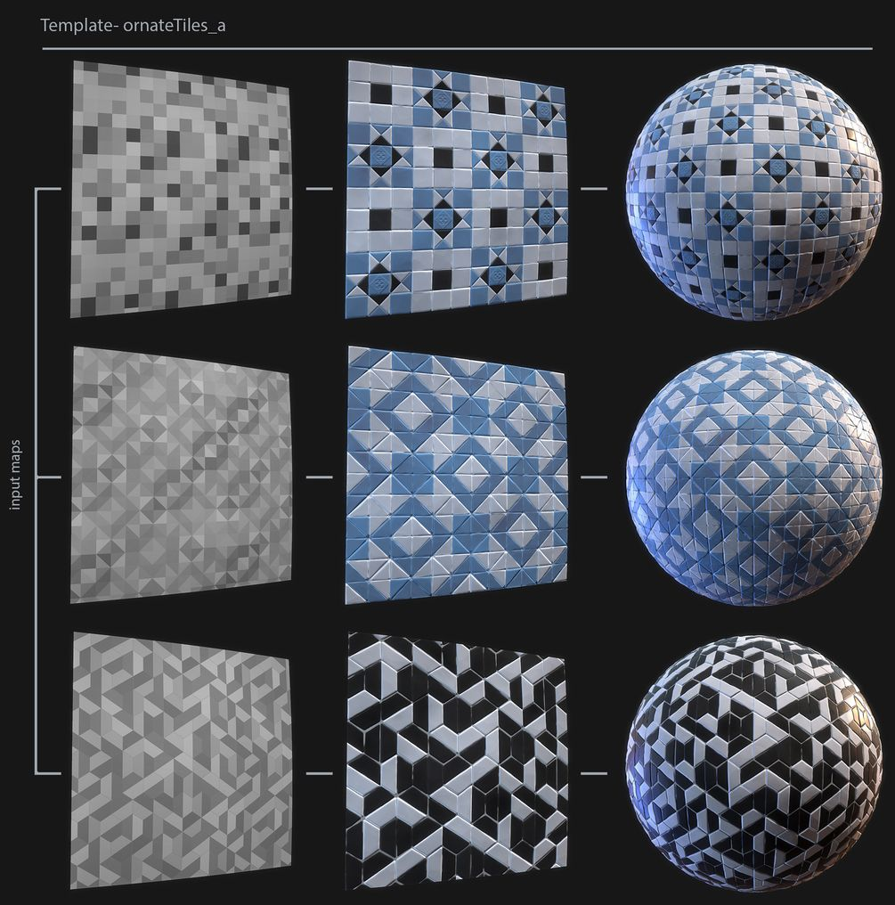 Stylized Tile Generator in 2019 | Gumroad Wishlist | Design, Texture