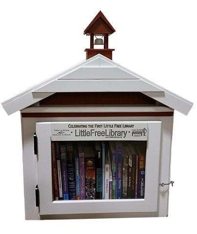 First Library (Limited Edition Replica) Free library, Books and - free bol