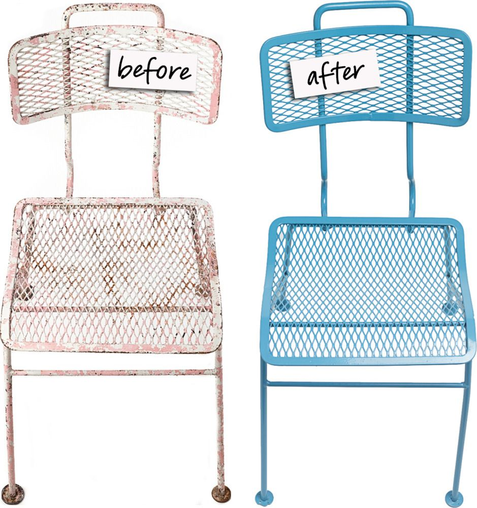 refinishing outdoor furniture powder