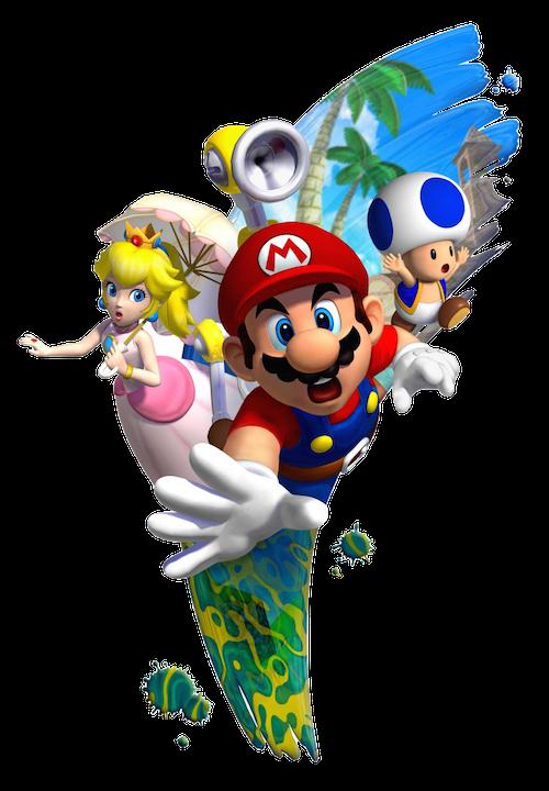 Fyeahsupermariobros Super Mario Bros Super Mario Sunshine Super Mario Art