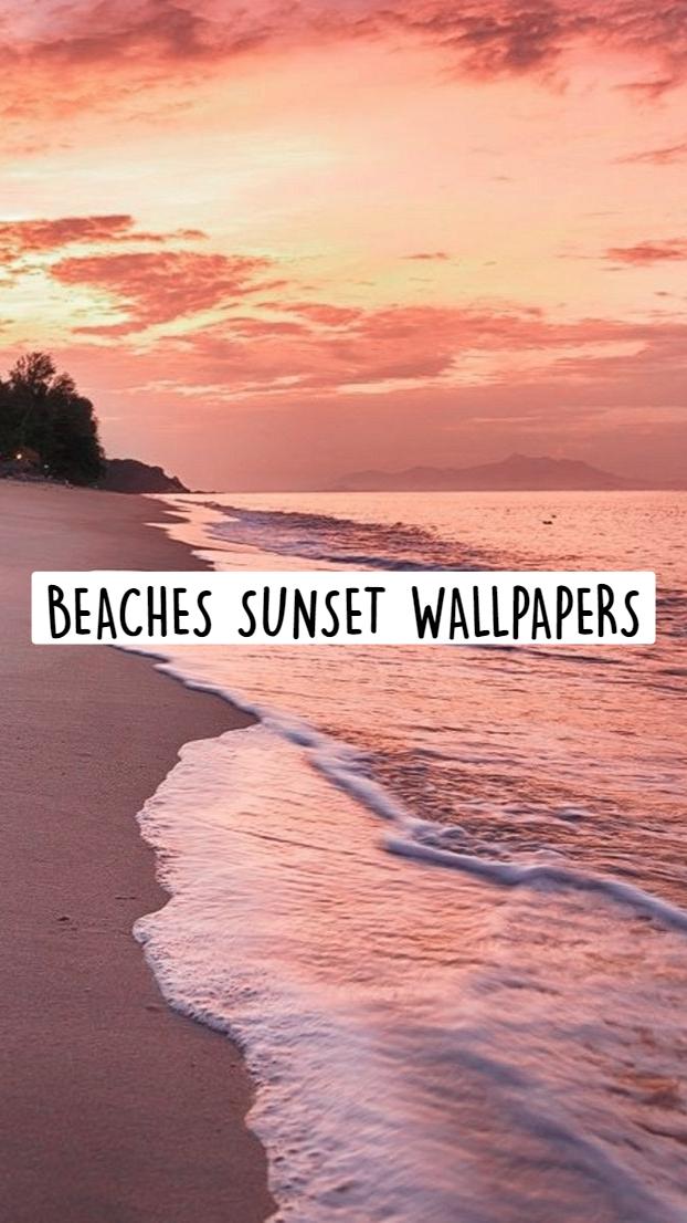 BEACHES SUNSET WALLPAPERS