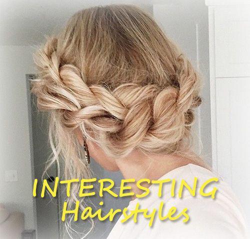 INTERESTING Hairstyles
