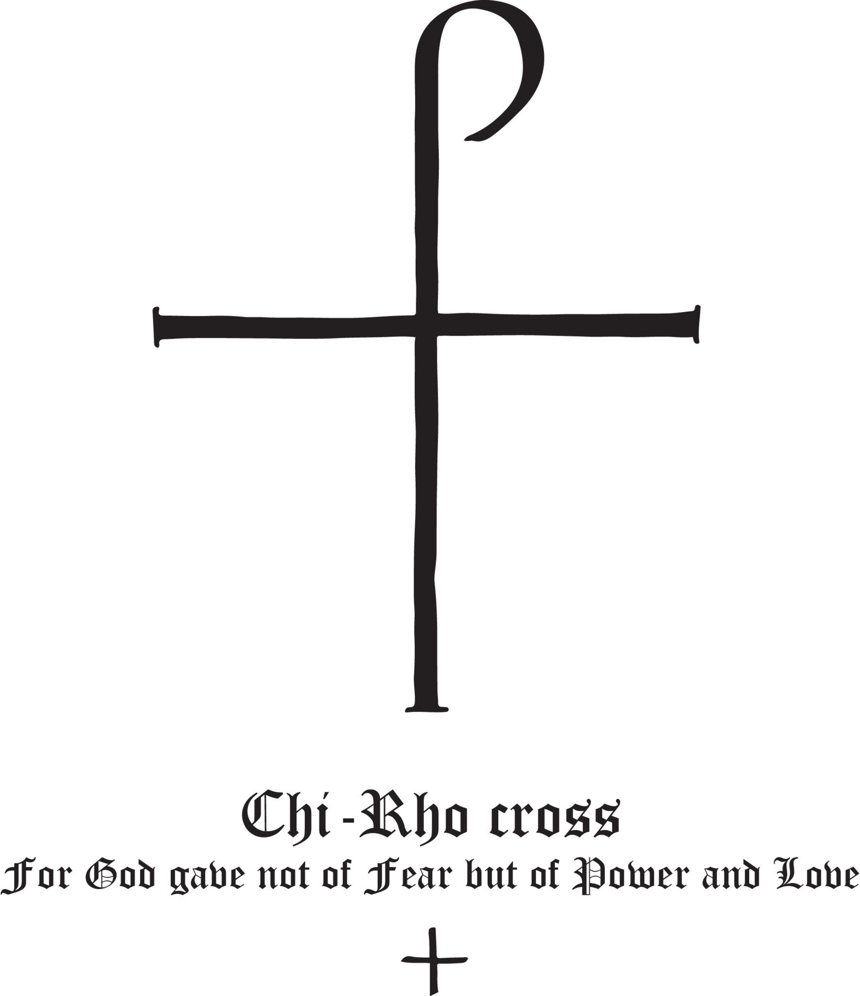 Rudolf koch christian symbol 125 chi rho cross chi rho show your support for your faith with rudolf kochs christian symbols these gorgeous and eternally christian symbolschi rho buycottarizona Images
