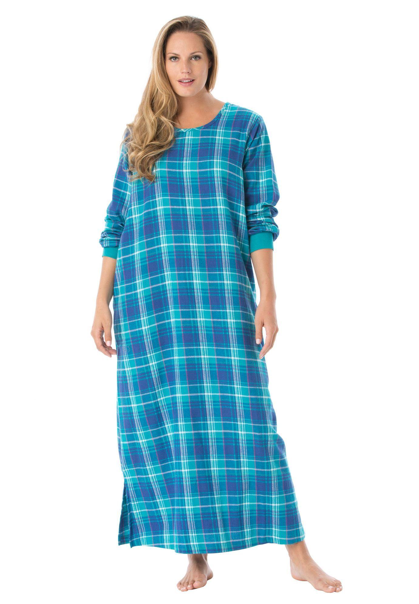 Plus Size Soft cotton flannel lounger  c145bec51