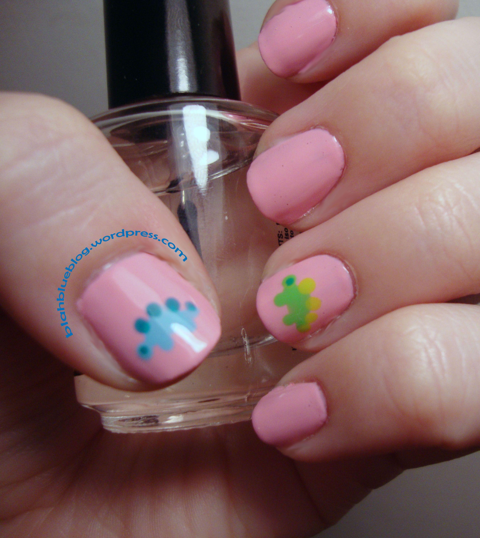 dinosaur nails! Just for Karen! Inside joke hahaha   Nails   Pinterest