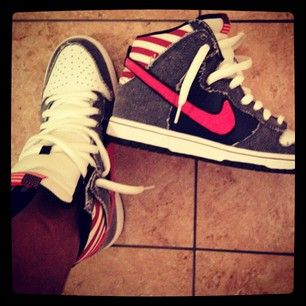 "competitive price 26b31 1fcd5 Nike Dunk High Premium SB ""Born in the USA"""