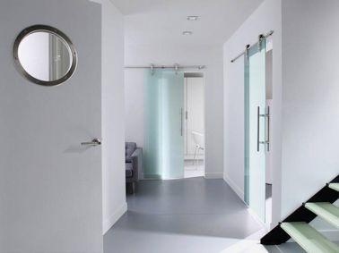 la porte coulissante l 39 astuce gain de place efficace home kitchen pinterest porte. Black Bedroom Furniture Sets. Home Design Ideas