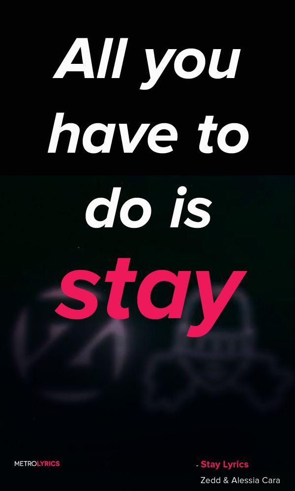 Taylor Swift - All You Had To Do Was Stay Lyrics | MetroLyrics