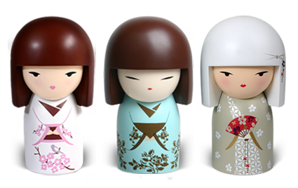 kokeshi muñecas - Buscar con Google