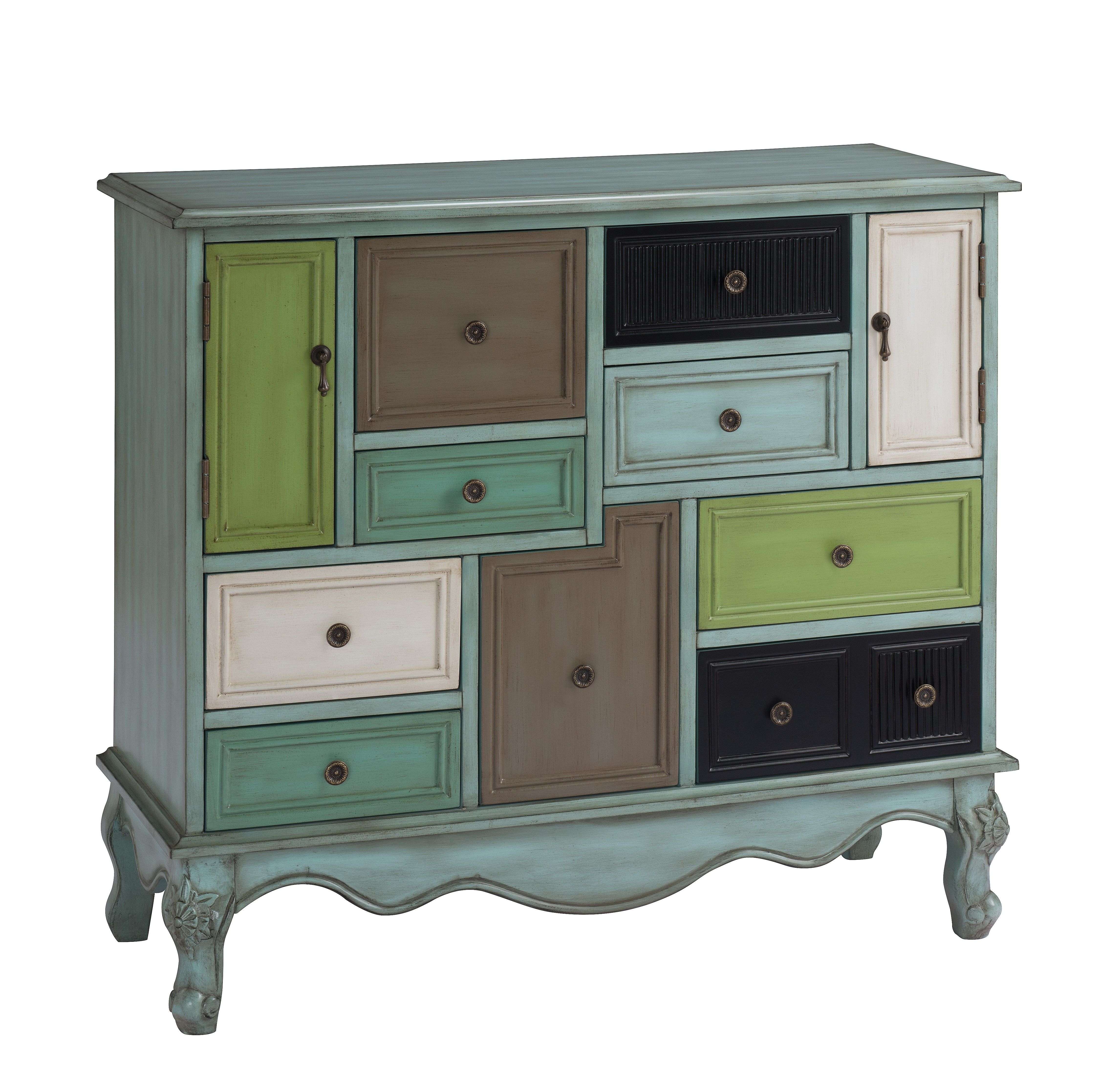 urban accents furniture. Urban Accent Nine Drawer Two Door Cabinet 99580 - Category: FurnitureSub-Category: Accents Furniture T