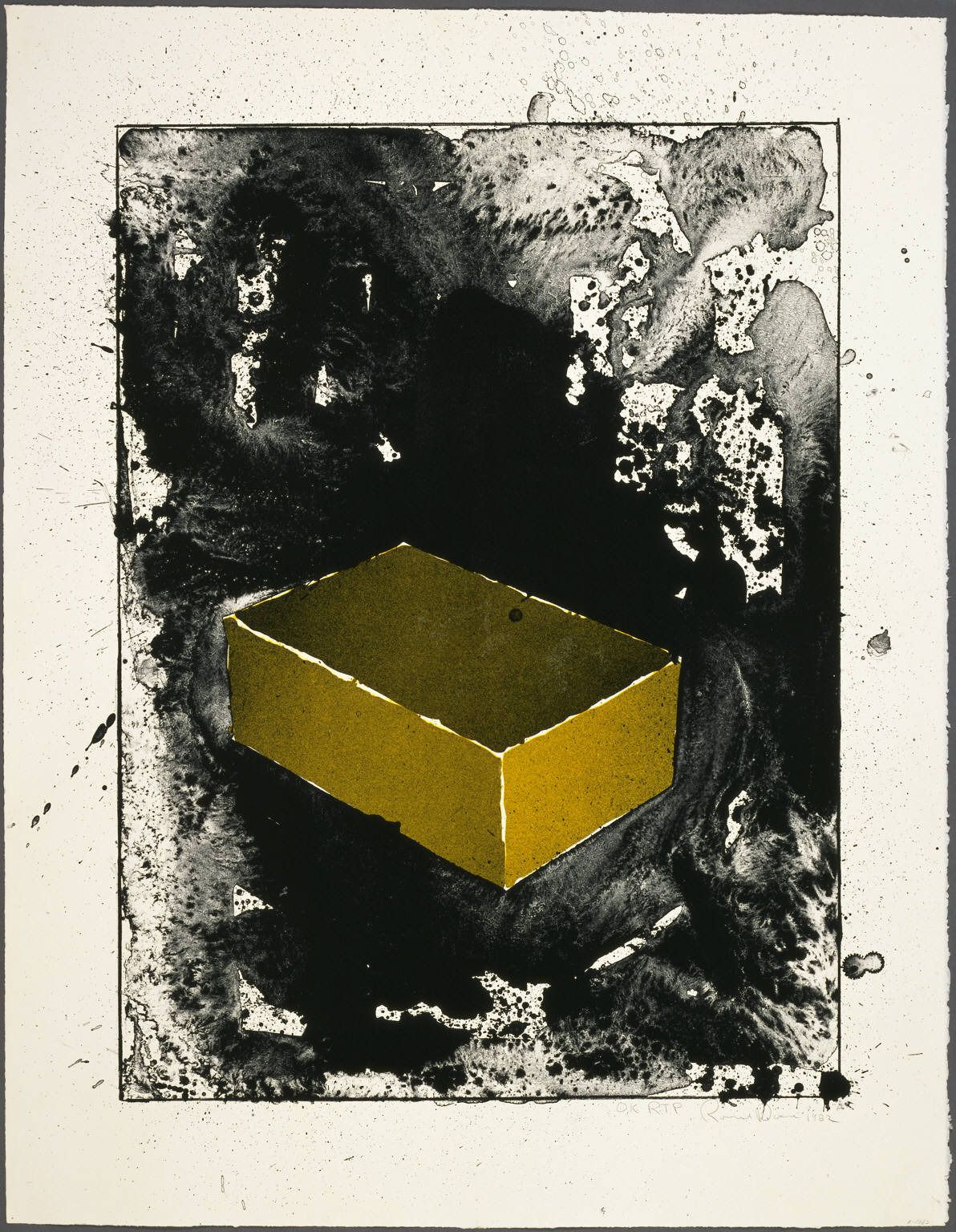 Yellow Brick | From a unique collection of prints and multiples at https://www.1stdibs.com/art/prints-works-on-paper/