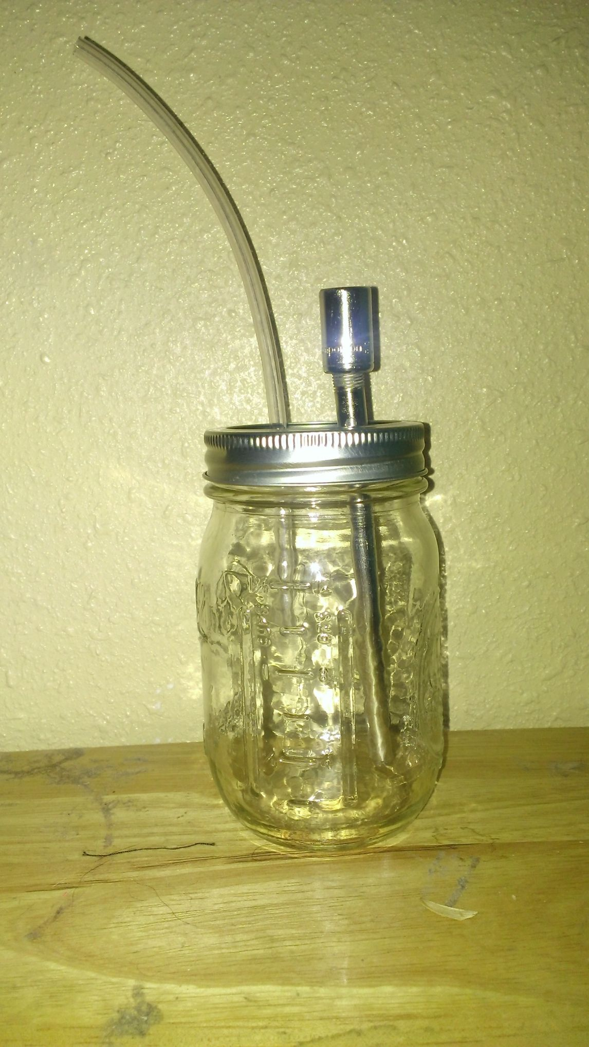 Where Can I Get Mason Jars Part - 49: Mason Jar Bong « Confessions Of The AnonymoUS