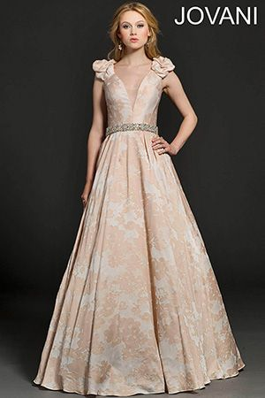 Floral Print Evening Dress 94290