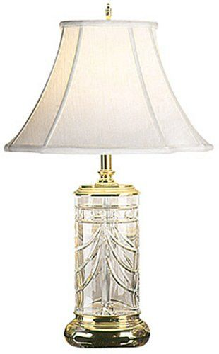27 high waterford crystal overture pattern table lamp waterford 27 high waterford crystal overture pattern table lamp waterford http aloadofball Gallery
