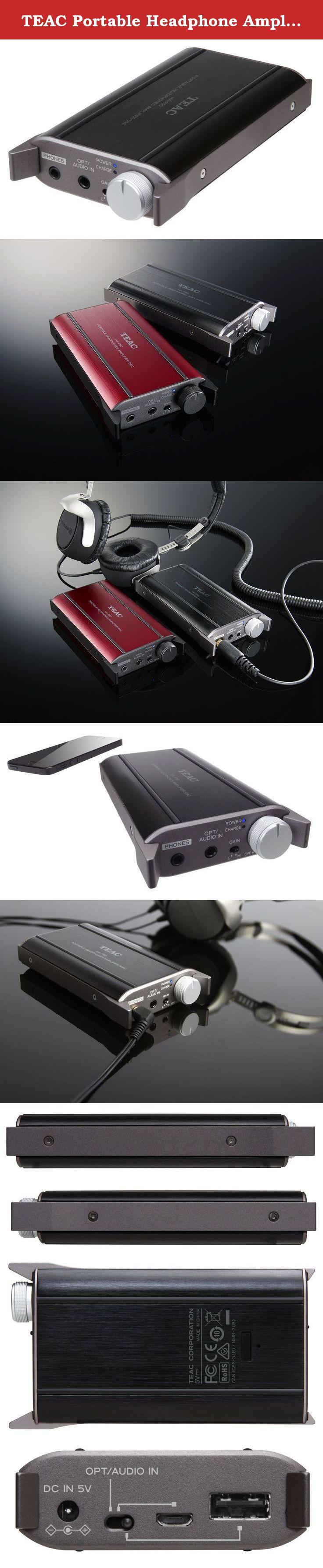 98afd92464d TEAC Portable Headphone Amplifier HA-P50. High quality, portable headphone  amplifier with built