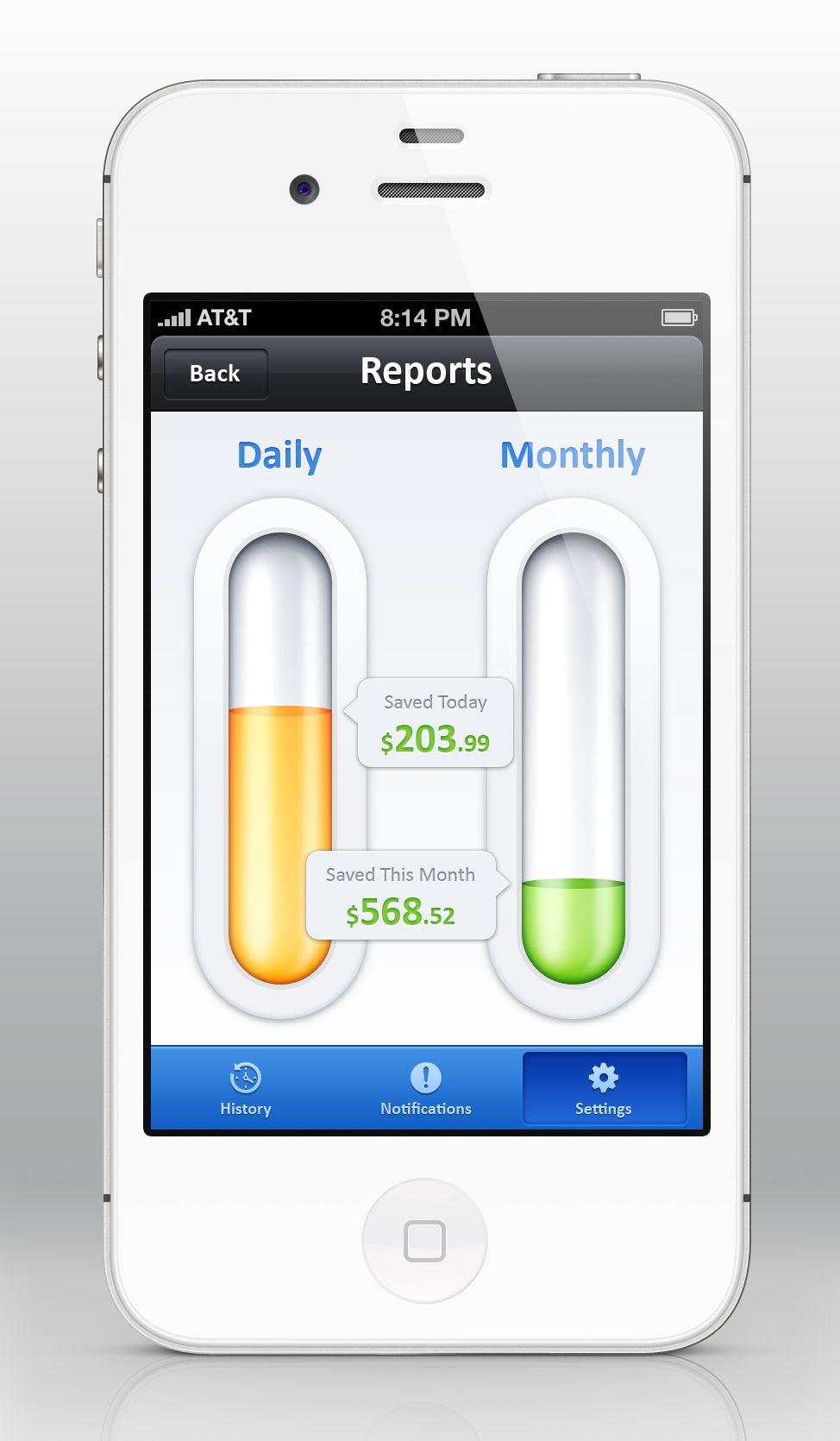 Savings App iOS / by Umar Irshad