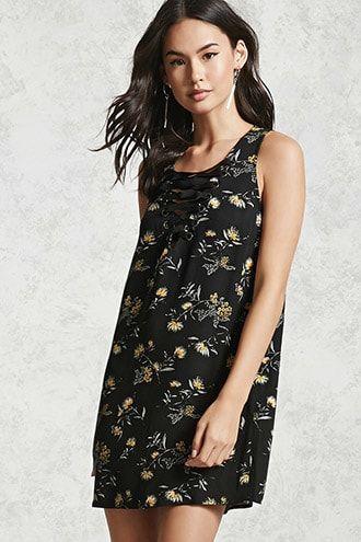 dedac9f9908ba Floral Mini Dress Vestidos Cortos