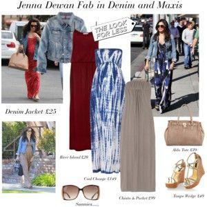 Jenna Dewan fab in maxis