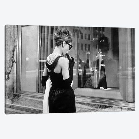 13+ Audrey Hepburn Window Shopping I Art Print by Radio Days   iCanvas
