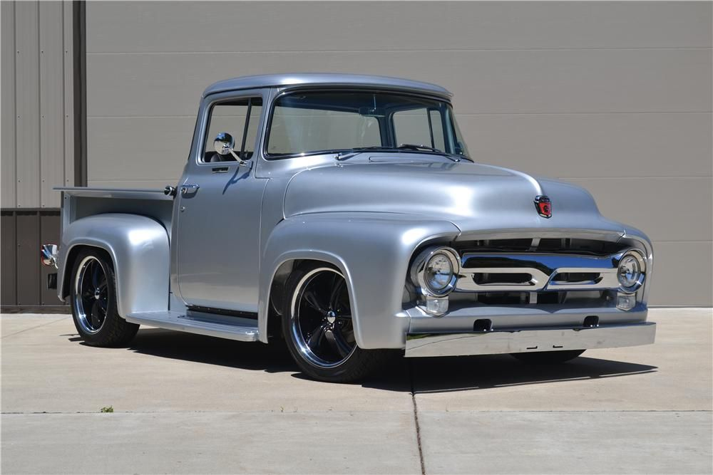 1956 Ford F 100 Custom Pickup Barrett Jackson Auction Company