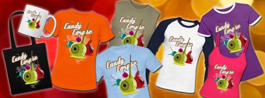 Ein paar Artikel unseres CandyCorpse Augapfels  www.groundmeat.de