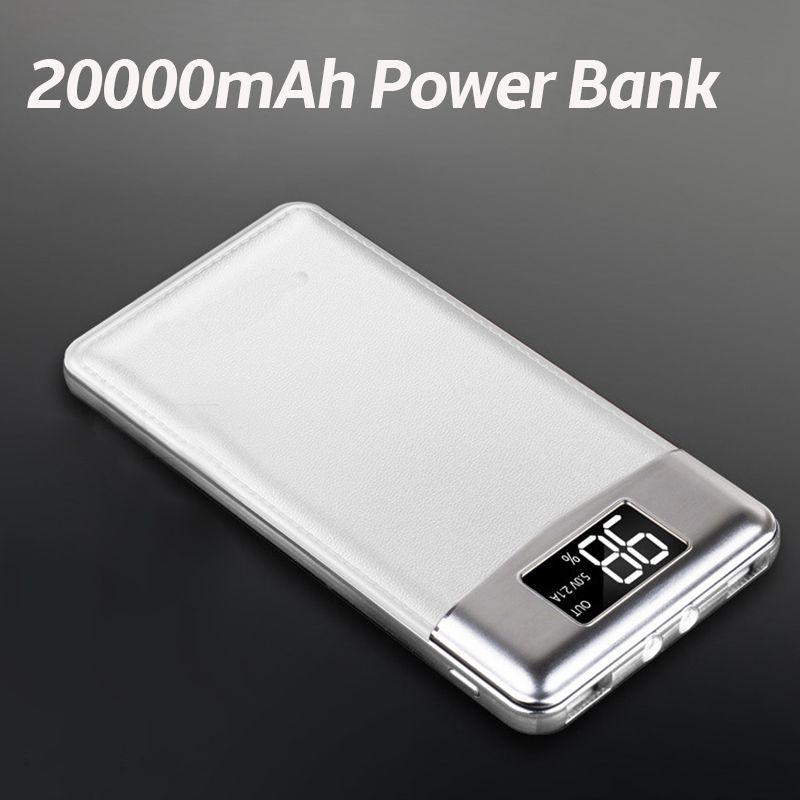 30000mah Power Bank External Battery Poverbank 2 Usb Led Powerbank Portable Mobile Phone Charger For Xiaomi Mi Iphone 8 Samsung Automobiles Advertising