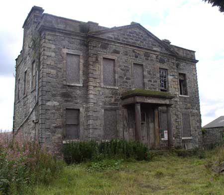 Blackburn House Lothian Scotland Now Restored Abandoned