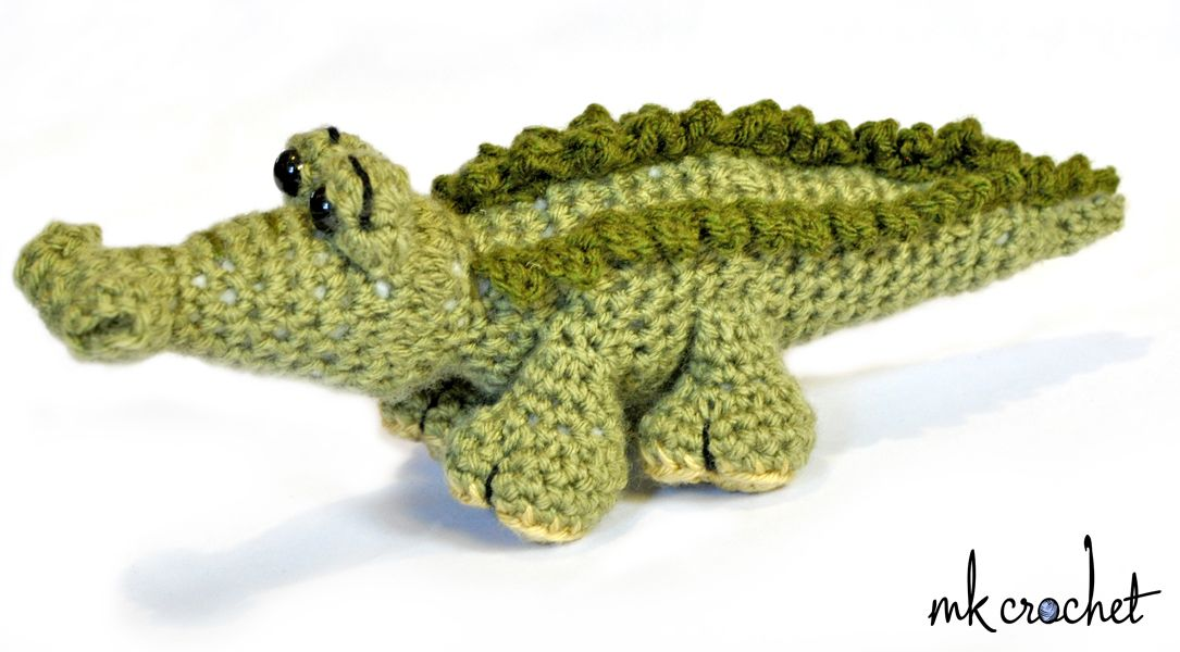 Unique Crochet Alligator Pattern Illustration - Blanket Knitting ...