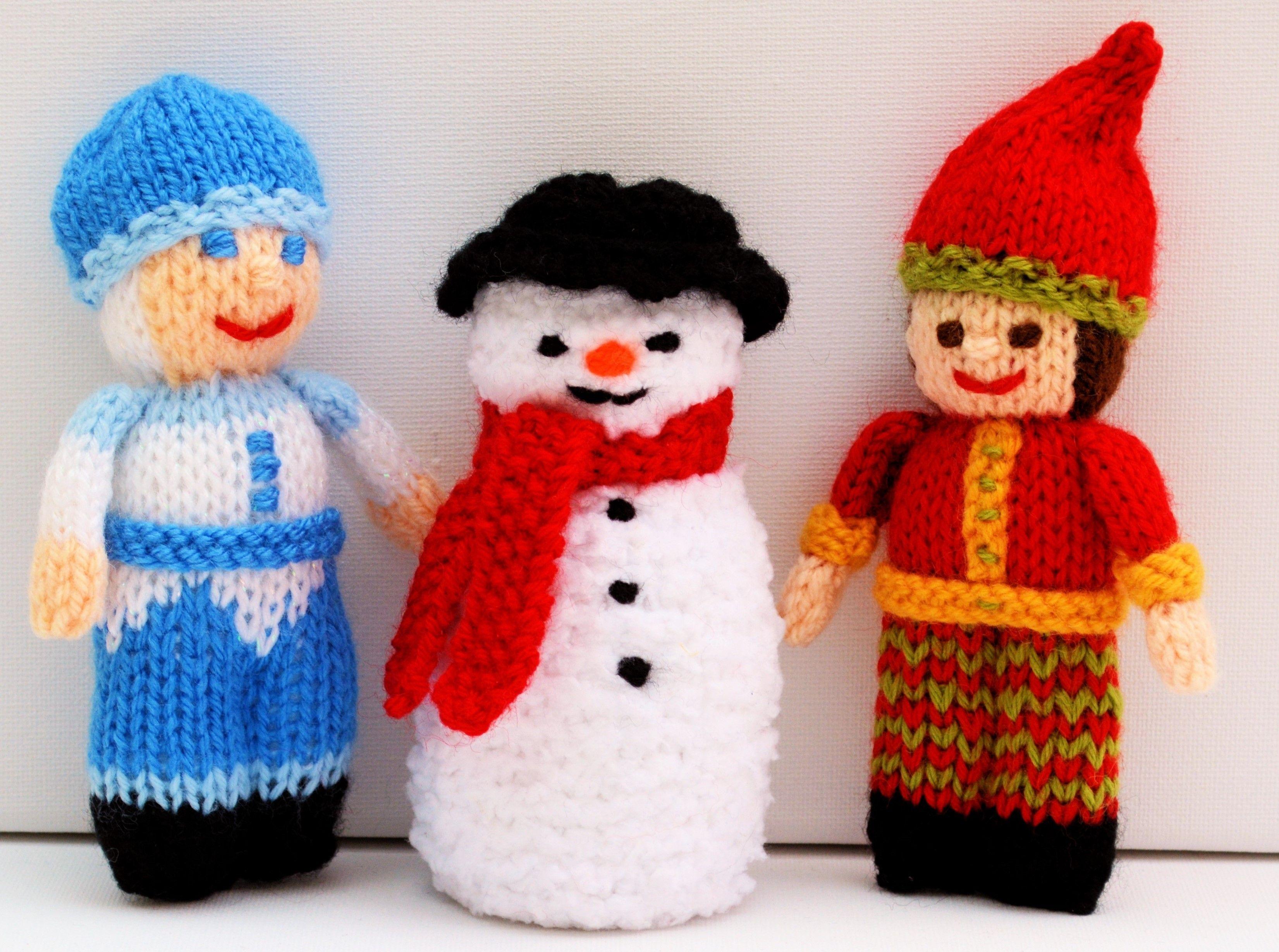 knitting pattern christmas decorations