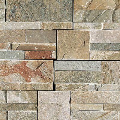 Daltile Slate Collection Slate Stacked Stone Golden Sun