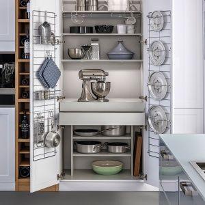 Znalezione obrazy dla zapytania przechowywanie garnków w kuchni