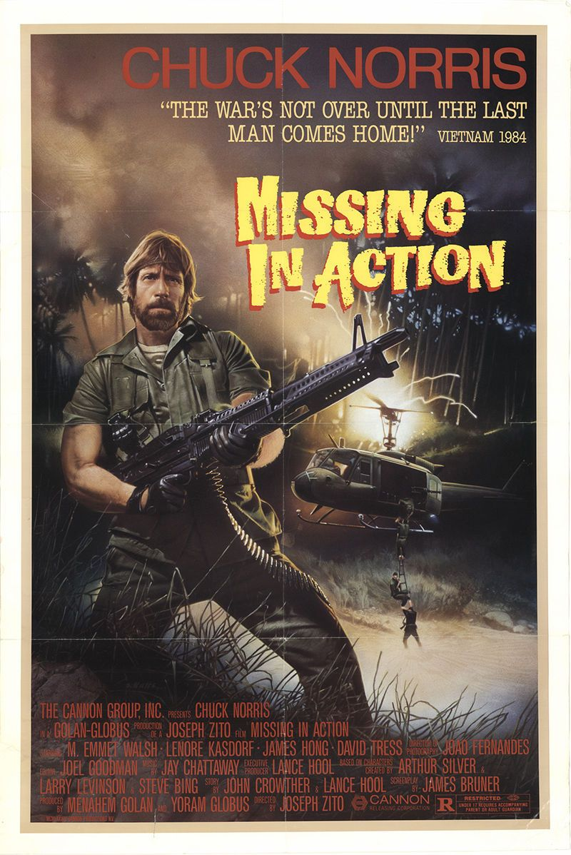 Missing In Action: Original Movie Poster