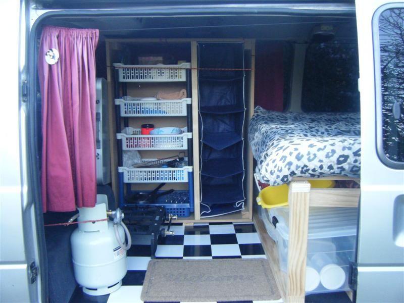 NZ DIY C&er Van Conversion (Toyota Hiace) & NZ DIY Camper Van Conversion (Toyota Hiace) | Tiny Houses On Wheels ...