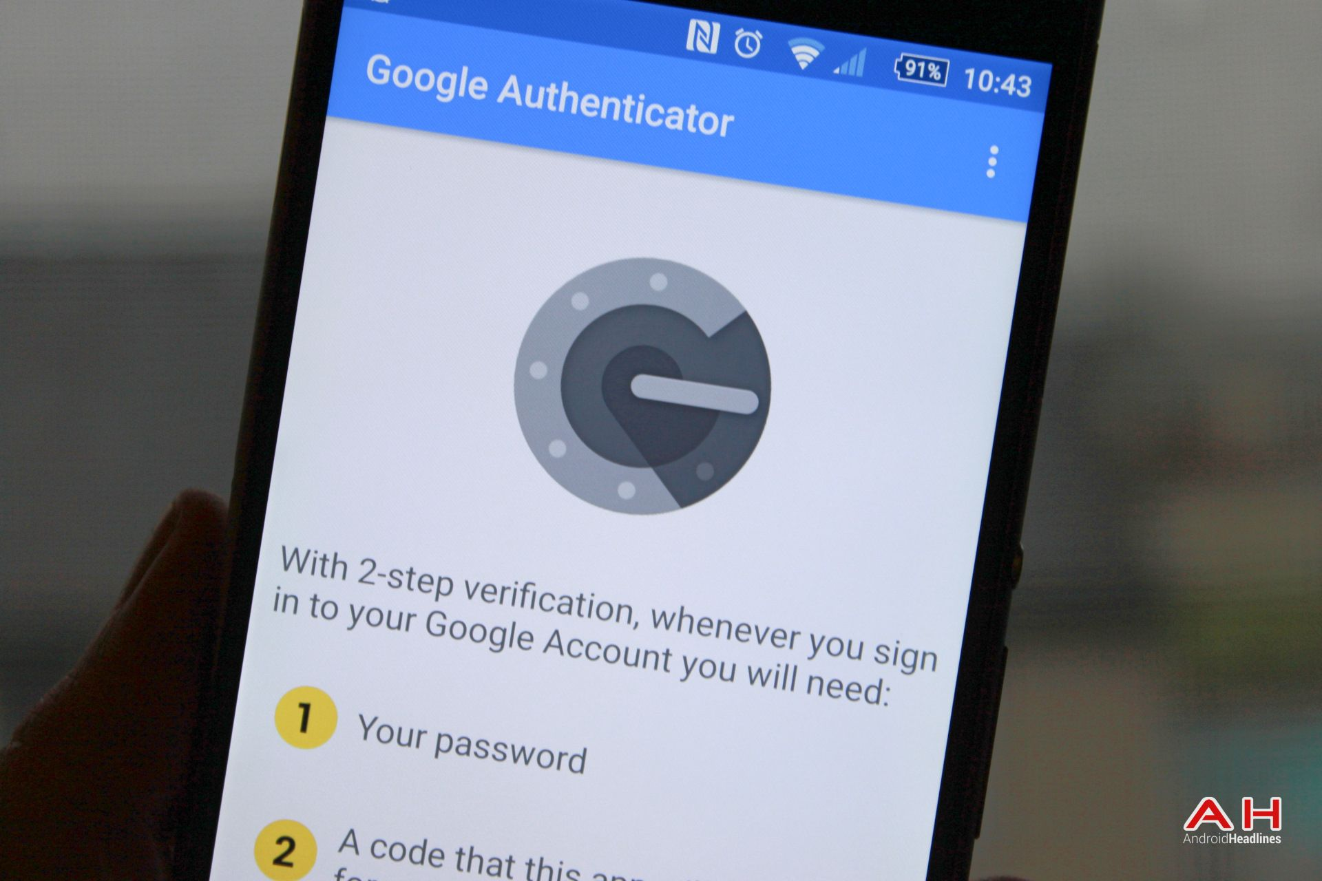 Google Gives Authenticator App Material Design Makeover