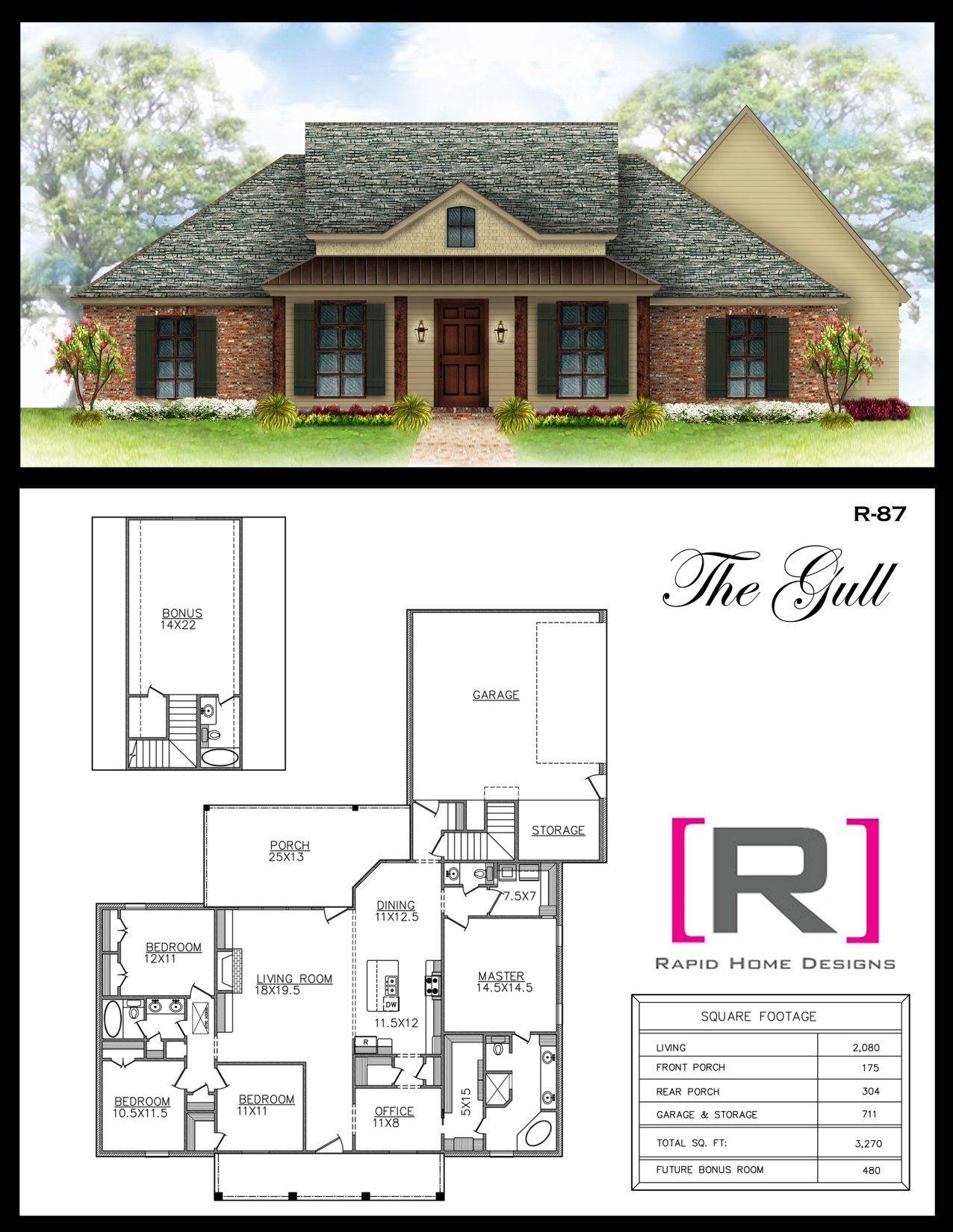 The Gull 2080sf Future House Wants Pinterest Gull House Plans