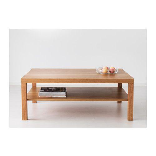 Lack Coffee Table Black Brown 118 X 78 Cm: LACK Sohvapöytä, Valkoinen