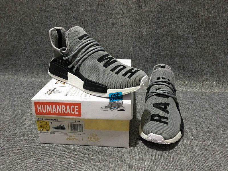 6e4ba3214d453 Adidas X Pharrell Humarace NMD Boost gray ready to ship!