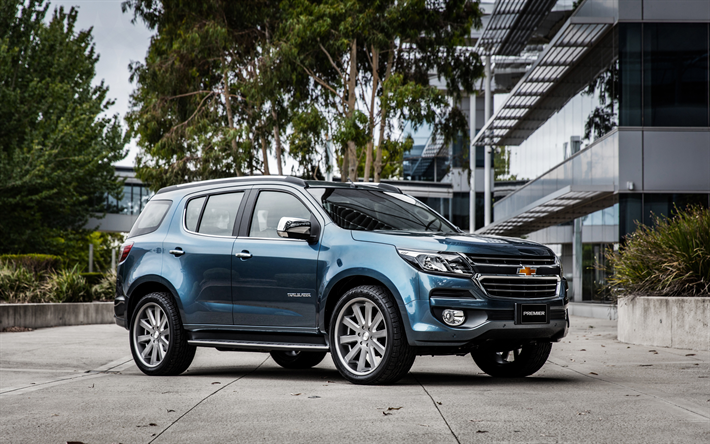 Download Wallpapers Chevrolet Trailblazer 4k 2019 Cars