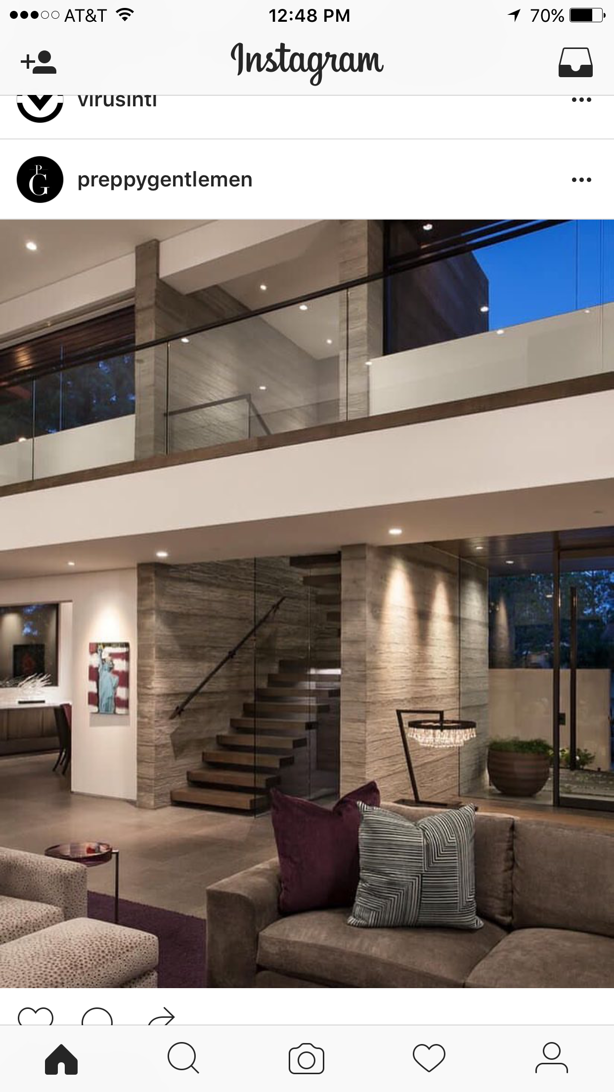Love this vibe with straight lines and glass balconies house
