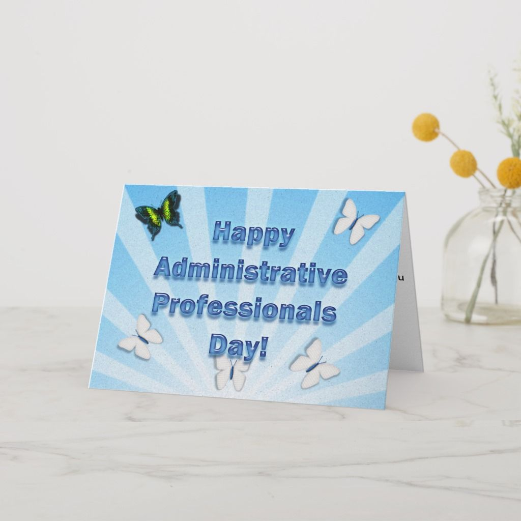 Administrative Professionals Day Best Admin Ever Card