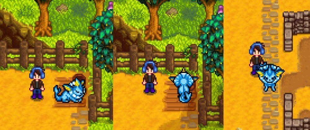 Stardew Valley with Pokemon mods is pretty much the best