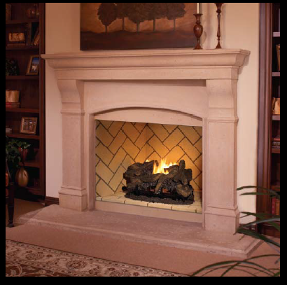 Mosaic Prefabricated Fireplace Most Realistic Prefab Box On